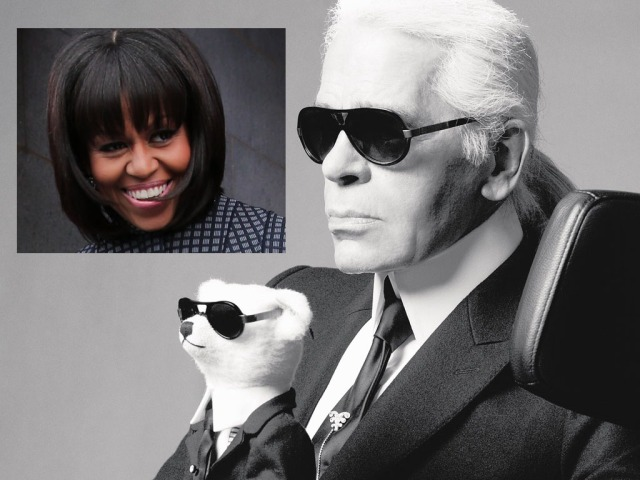 Karl-LagerfeldVSMichelle-Obama